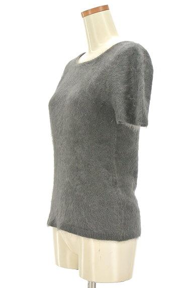 NATURAL BEAUTY(ナチュラルビューティ)の古着「カシミヤ半袖ニット(ニット)」大画像3へ