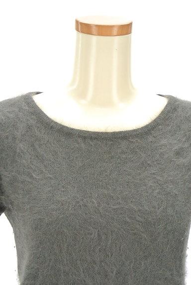 NATURAL BEAUTY(ナチュラルビューティ)の古着「カシミヤ半袖ニット(ニット)」大画像4へ
