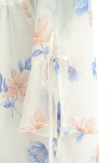 Rirandture(リランドチュール)の古着「花柄シフォン5分袖カットソー(カットソー・プルオーバー)」大画像5へ
