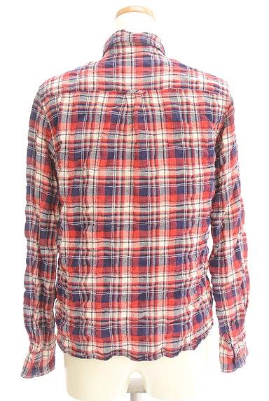 URBAN RESEARCH(アーバンリサーチ)の古着「シワ加工カジュアルチェックシャツ(カジュアルシャツ)」大画像2へ