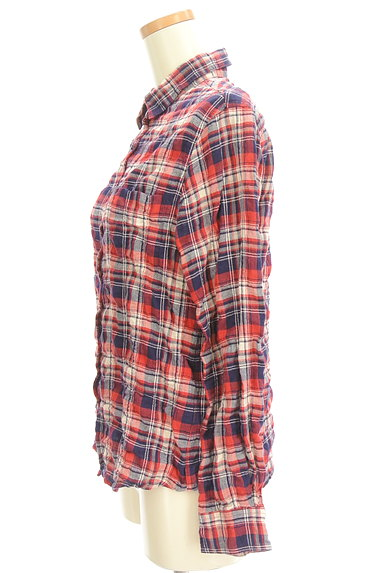 URBAN RESEARCH(アーバンリサーチ)の古着「シワ加工カジュアルチェックシャツ(カジュアルシャツ)」大画像3へ