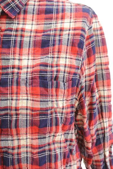 URBAN RESEARCH(アーバンリサーチ)の古着「シワ加工カジュアルチェックシャツ(カジュアルシャツ)」大画像5へ