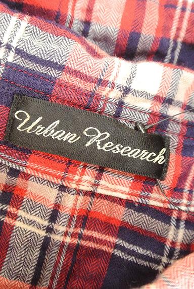 URBAN RESEARCH(アーバンリサーチ)の古着「シワ加工カジュアルチェックシャツ(カジュアルシャツ)」大画像6へ