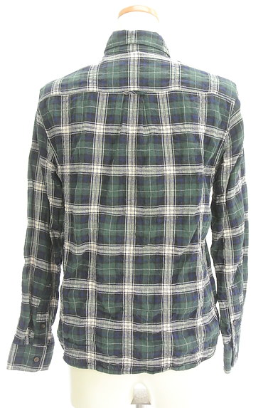 URBAN RESEARCH(アーバンリサーチ)の古着「シワ加工チェック柄シャツ(カジュアルシャツ)」大画像2へ