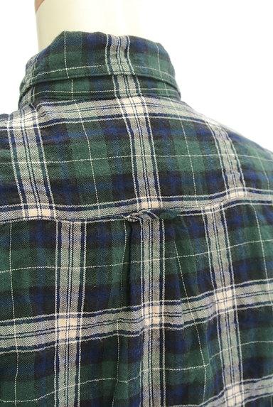 URBAN RESEARCH(アーバンリサーチ)の古着「シワ加工チェック柄シャツ(カジュアルシャツ)」大画像5へ