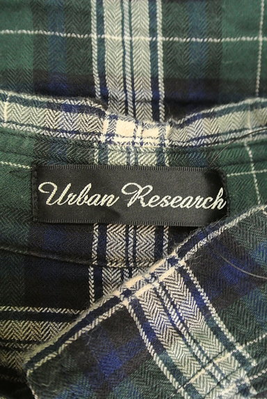 URBAN RESEARCH(アーバンリサーチ)の古着「シワ加工チェック柄シャツ(カジュアルシャツ)」大画像6へ