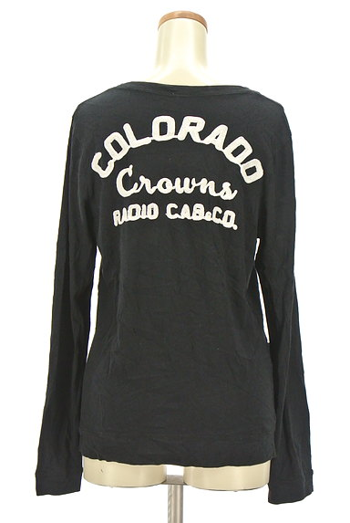 RODEO CROWNS(ロデオクラウン)の古着「ロゴ刺繍カーディガン(カーディガン・ボレロ)」大画像2へ