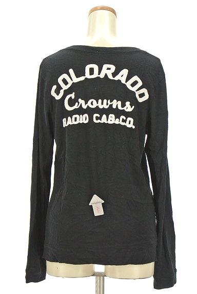 RODEO CROWNS(ロデオクラウン)の古着「ロゴ刺繍カーディガン(カーディガン・ボレロ)」大画像4へ