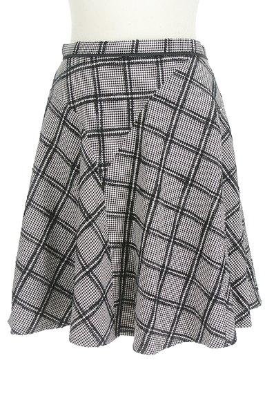 JUSGLITTY(ジャスグリッティー)の古着「ランダムチェック柄フレアスカート(スカート)」大画像1へ