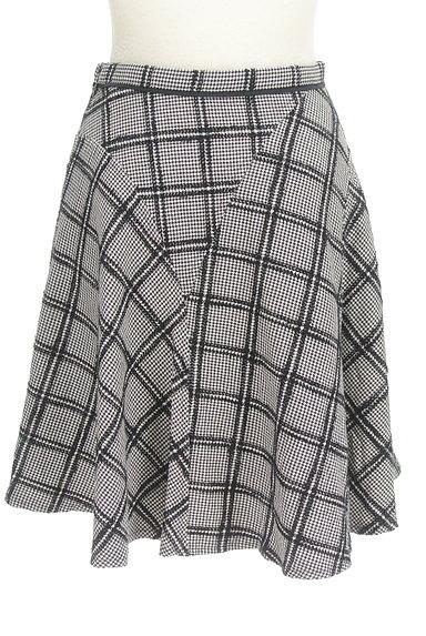JUSGLITTY(ジャスグリッティー)の古着「ランダムチェック柄フレアスカート(スカート)」大画像2へ