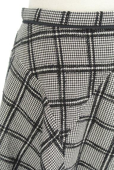 JUSGLITTY(ジャスグリッティー)の古着「ランダムチェック柄フレアスカート(スカート)」大画像4へ