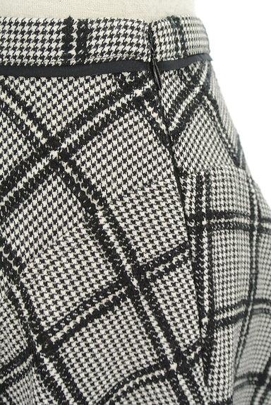 JUSGLITTY(ジャスグリッティー)の古着「ランダムチェック柄フレアスカート(スカート)」大画像5へ