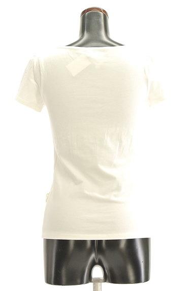 Cynthia Rowley(シンシアローリー)の古着「花刺繍モチーフ付きTシャツ(カットソー・プルオーバー)」大画像2へ