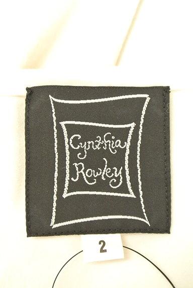 Cynthia Rowley(シンシアローリー)の古着「花刺繍モチーフ付きTシャツ(カットソー・プルオーバー)」大画像6へ