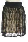 SCOT CLUB(スコットクラブ)の古着「ミニスカート」後ろ