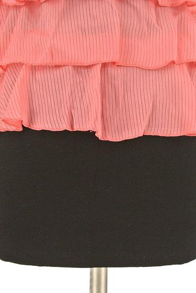 rienda(リエンダ)の古着「ティアードフリルタイトキャミワンピ(キャミワンピース)」大画像5へ