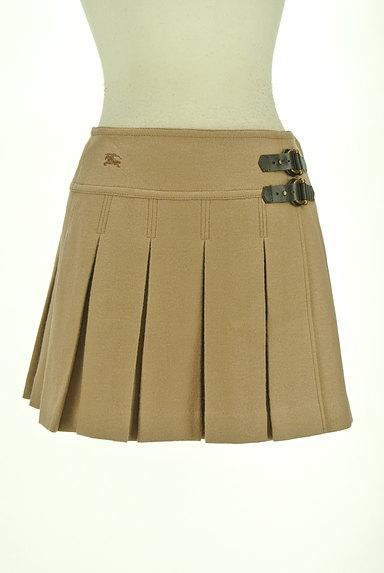 BURBERRY BLUE LABEL(バーバリーブルーレーベル)の古着「ベルトデザインボックスプリーツスカート(ミニスカート)」大画像1へ