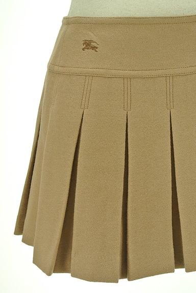 BURBERRY BLUE LABEL(バーバリーブルーレーベル)の古着「ベルトデザインボックスプリーツスカート(ミニスカート)」大画像5へ