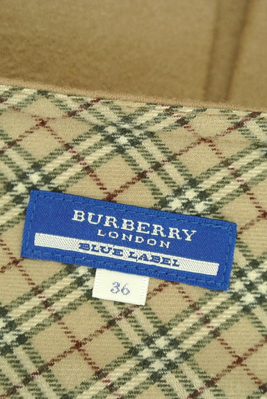 BURBERRY BLUE LABEL(バーバリーブルーレーベル)の古着「ベルトデザインボックスプリーツスカート(ミニスカート)」大画像6へ