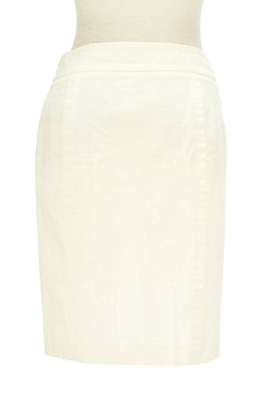 BURBERRY BLUE LABEL(バーバリーブルーレーベル)の古着「大人ホワイトデニムひざ上丈スカート(スカート)」大画像2へ
