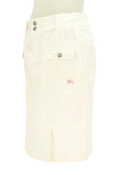 BURBERRY BLUE LABEL(バーバリーブルーレーベル)の古着「大人ホワイトデニムひざ上丈スカート(スカート)」大画像3へ