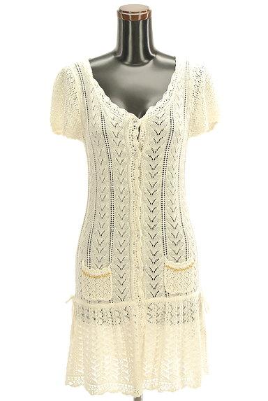 LODISPOTTO(ロディスポット)の古着「かぎ針透かし編みカーディガン(カーディガン・ボレロ)」大画像1へ