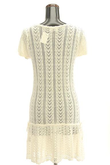 LODISPOTTO(ロディスポット)の古着「かぎ針透かし編みカーディガン(カーディガン・ボレロ)」大画像2へ