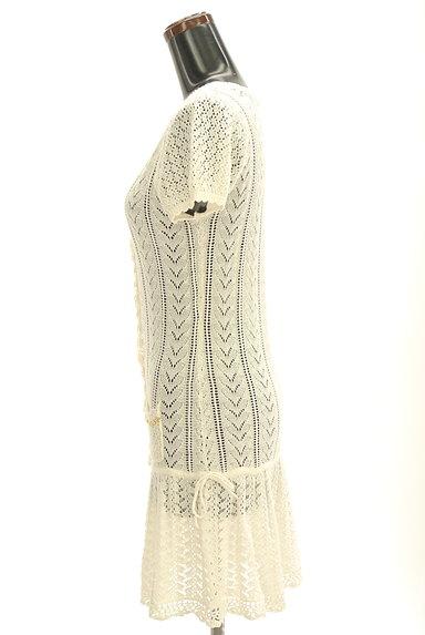 LODISPOTTO(ロディスポット)の古着「かぎ針透かし編みカーディガン(カーディガン・ボレロ)」大画像3へ