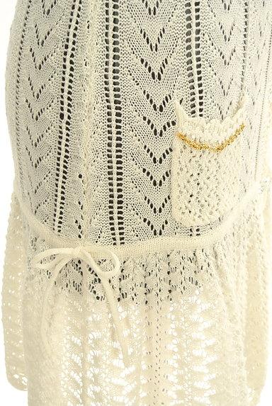 LODISPOTTO(ロディスポット)の古着「かぎ針透かし編みカーディガン(カーディガン・ボレロ)」大画像5へ