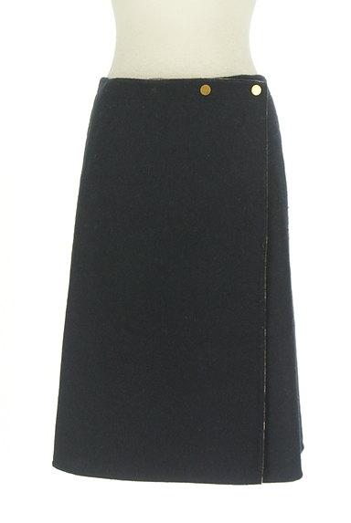 Te chichi(テチチ)の古着「チェック×無地リバーシブル巻きスカート(スカート)」大画像4へ