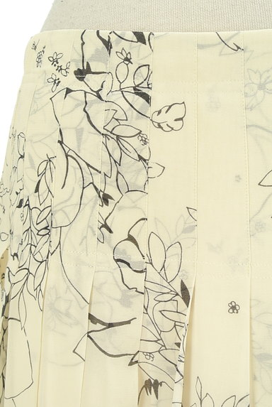 theory(セオリー)の古着「ミモレ丈花柄シアープリーツスカート(スカート)」大画像4へ