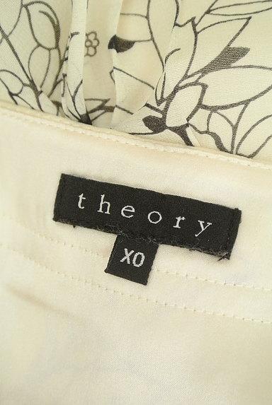 theory(セオリー)の古着「ミモレ丈花柄シアープリーツスカート(スカート)」大画像6へ