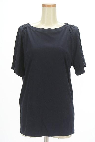 MOUSSY(マウジー)の古着「ロング丈シンプルカットソー(Tシャツ)」大画像1へ