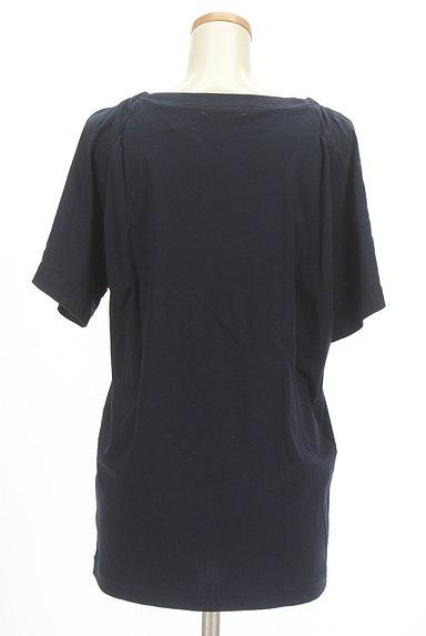 MOUSSY(マウジー)の古着「ロング丈シンプルカットソー(Tシャツ)」大画像2へ