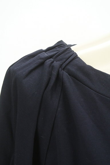 MOUSSY(マウジー)の古着「ロング丈シンプルカットソー(Tシャツ)」大画像4へ
