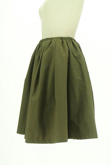 N.Natural Beauty Basic*(エヌ ナチュラルビューティーベーシック)の古着「膝丈ギャザーフレアスカート(スカート)」大画像3へ