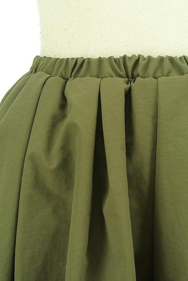 N.Natural Beauty Basic*(エヌ ナチュラルビューティーベーシック)の古着「膝丈ギャザーフレアスカート(スカート)」大画像4へ