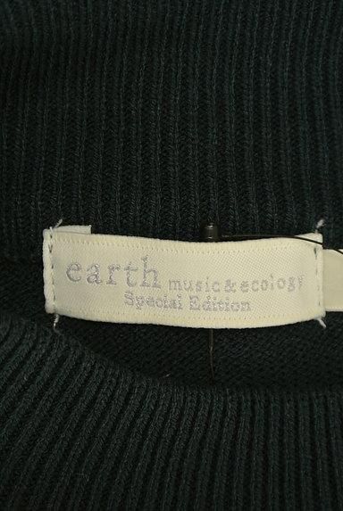 earth music&ecology(アースミュージック&エコロジー)の古着「パール装飾ハイネックニット(ニット)」大画像6へ