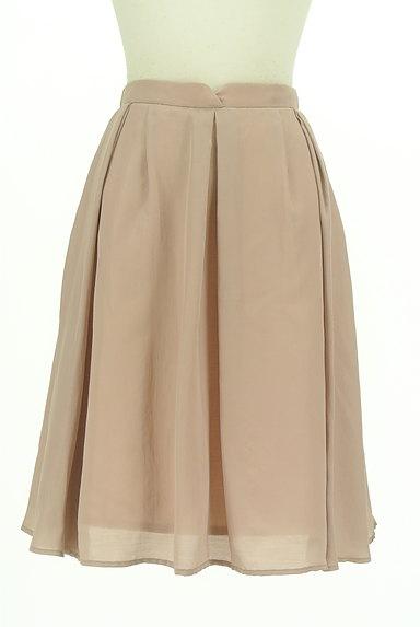 PROPORTION BODY DRESSING(プロポーションボディ ドレッシング)の古着「ミモレ丈微光沢シフォンスカート(スカート)」大画像1へ