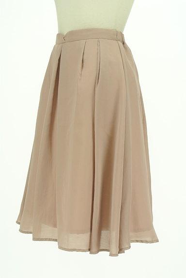 PROPORTION BODY DRESSING(プロポーションボディ ドレッシング)の古着「ミモレ丈微光沢シフォンスカート(スカート)」大画像3へ