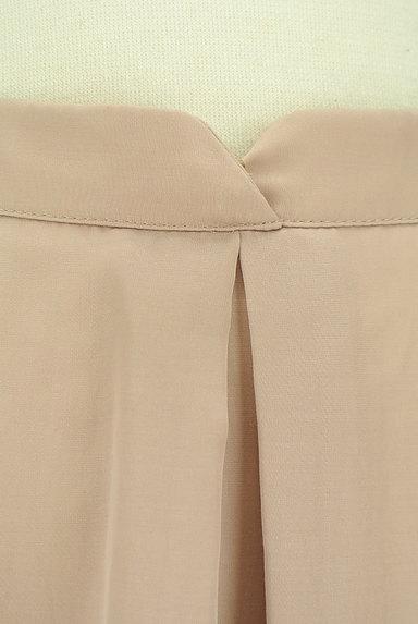 PROPORTION BODY DRESSING(プロポーションボディ ドレッシング)の古着「ミモレ丈微光沢シフォンスカート(スカート)」大画像4へ