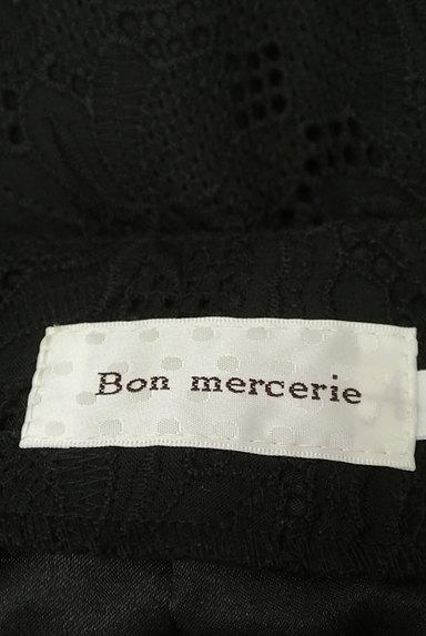 Bon mercerie(ボンメルスリー)の古着「コットンレースタイトミニスカート(ミニスカート)」大画像6へ