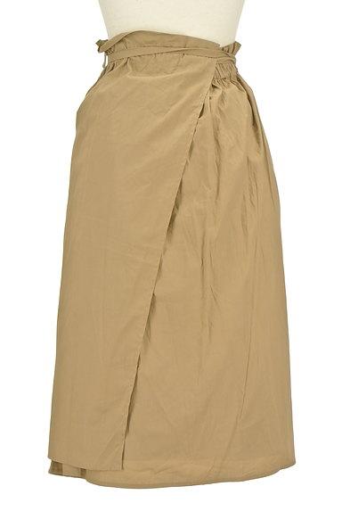 LOUNIE(ルーニィ)の古着「ロング丈ラップスカート(ロングスカート・マキシスカート)」大画像2へ
