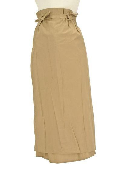 LOUNIE(ルーニィ)の古着「ロング丈ラップスカート(ロングスカート・マキシスカート)」大画像3へ