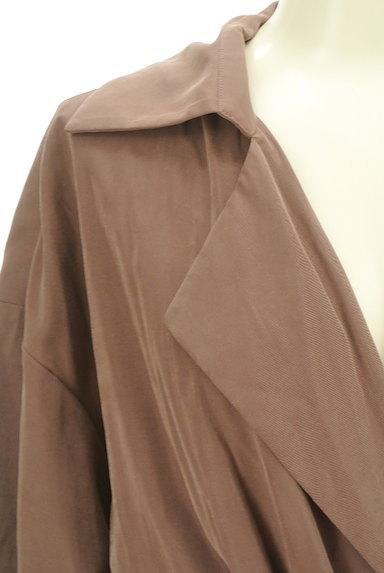 LOUNIE(ルーニィ)の古着「ウエストリボンロングトレンチコート(トレンチコート)」大画像4へ