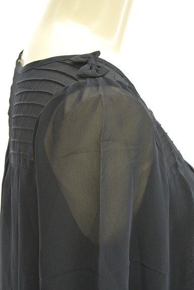 Te chichi(テチチ)の古着「肩リボンシフォンカットソー(カットソー・プルオーバー)」大画像5へ