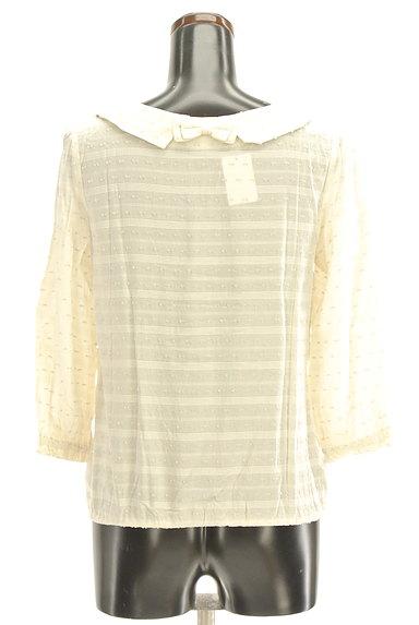 Te chichi(テチチ)の古着「衿付後ろリボントップス(カットソー・プルオーバー)」大画像2へ