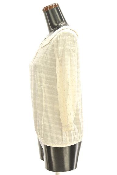 Te chichi(テチチ)の古着「衿付後ろリボントップス(カットソー・プルオーバー)」大画像3へ