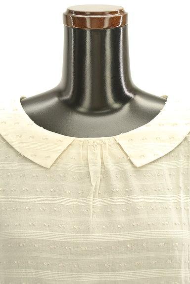 Te chichi(テチチ)の古着「衿付後ろリボントップス(カットソー・プルオーバー)」大画像4へ