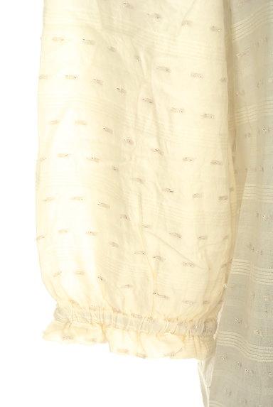 Te chichi(テチチ)の古着「衿付後ろリボントップス(カットソー・プルオーバー)」大画像5へ